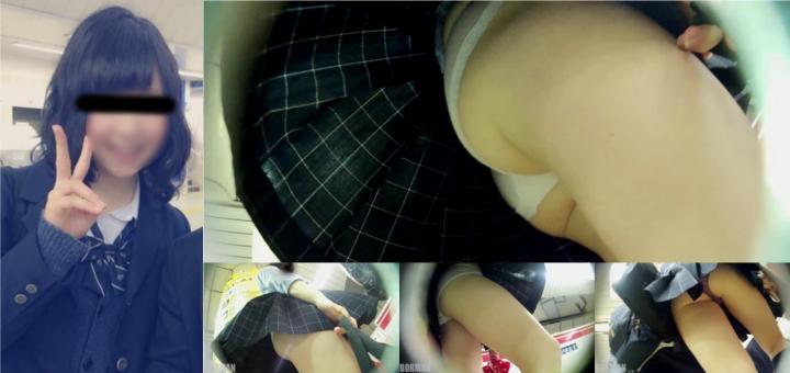 【Pcolle】制服女子専門ストーカーの粘着パンチラ撮り vol.11 (2/4)【BORMAN】