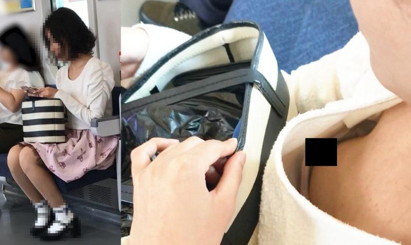 【Pcolle】[胸チラ]上品な巨乳お嬢様の乳首が丸見え[顔有]【ぱゆぱゆ】