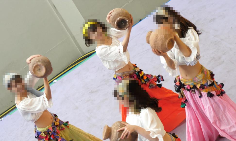 【Pcolle】4K高画質!妖艶JDの胸チラベリーダンス【asdfg123】