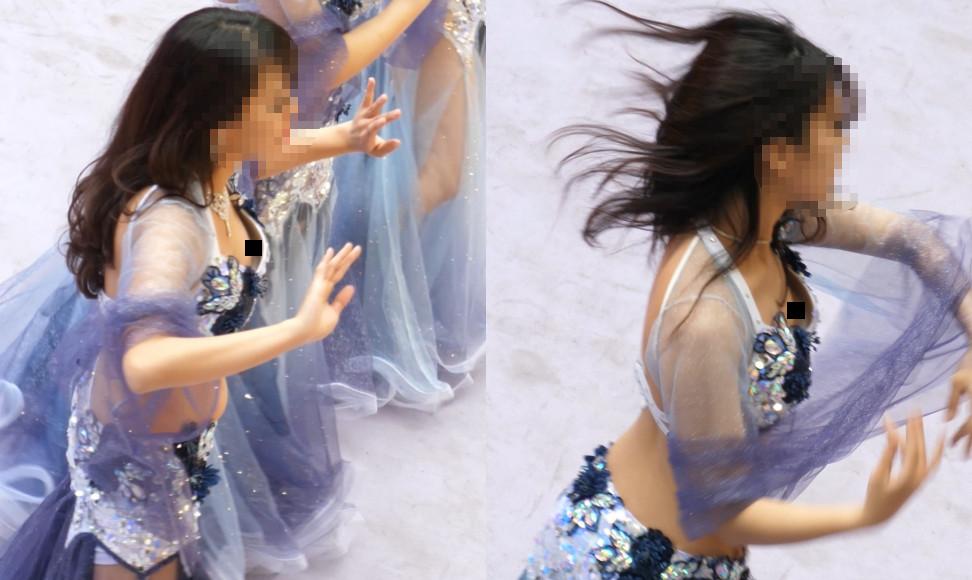 【Pcolle】4K!有名大学生のベリーダンス。決定的瞬間の連続。【asdfg123】