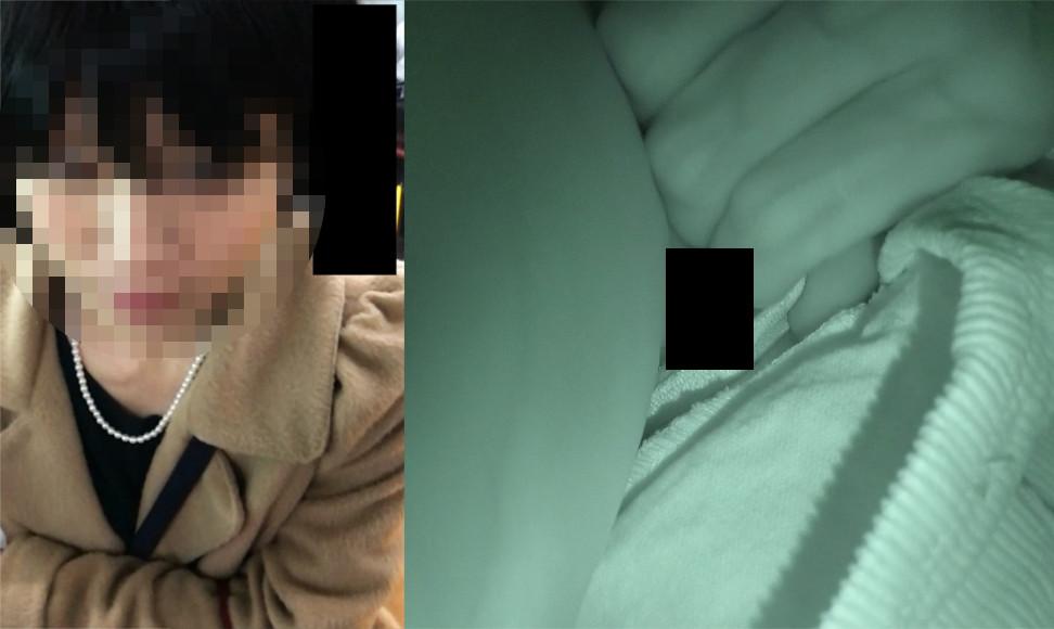 【Pcolle】パンツめくった【The 痴漢04】【サヤシ】