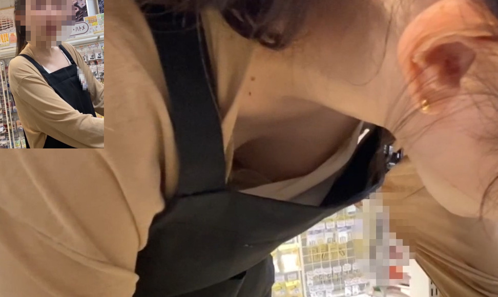【Pcolle】【店員さん個撮⑦】※エッチな胸チラパンチラ視姦※《楽器店員&手芸用品店員》【ドドメ】
